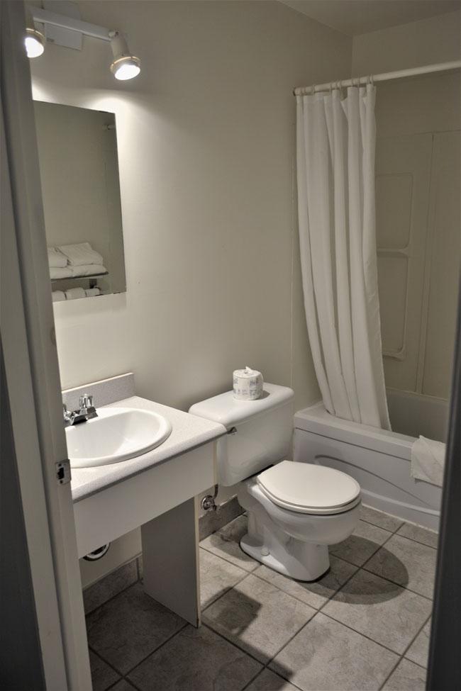 salle de bain chambre travailleur