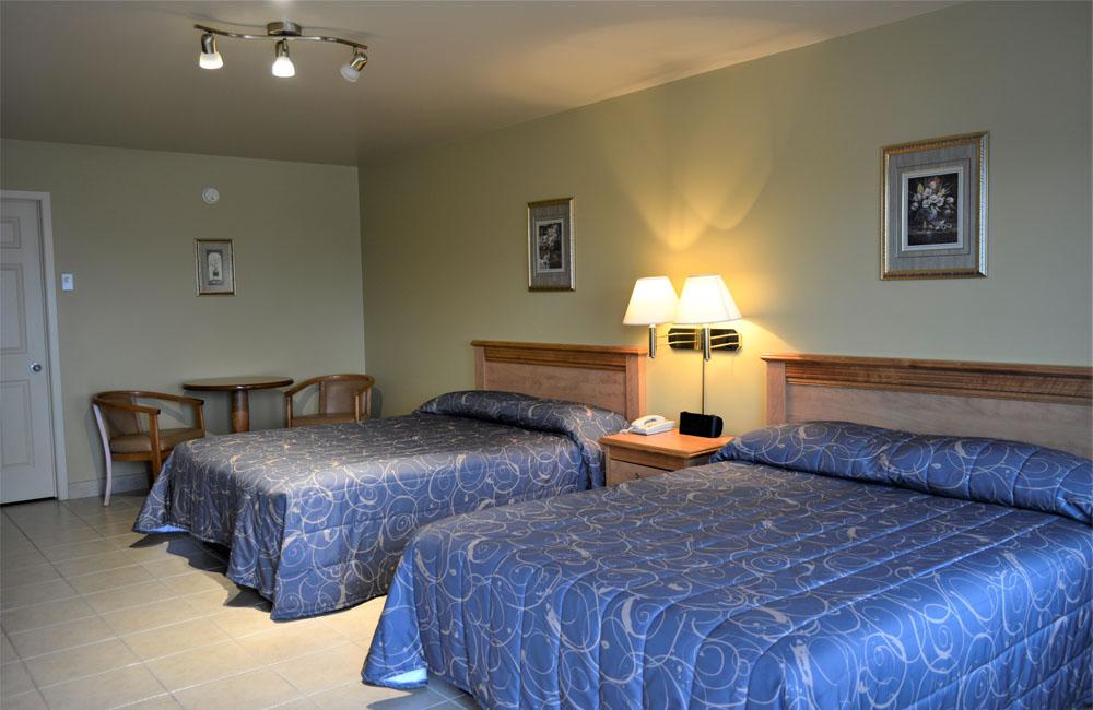 chambres extérieures motel 4 saisons