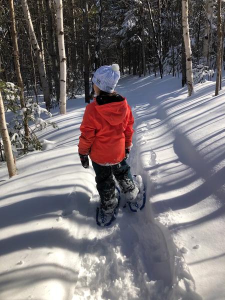 Sport d'hiver à Forestville